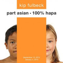 Promotional image from Kip Fulbeck: part asian, 100% hapa exhibit.