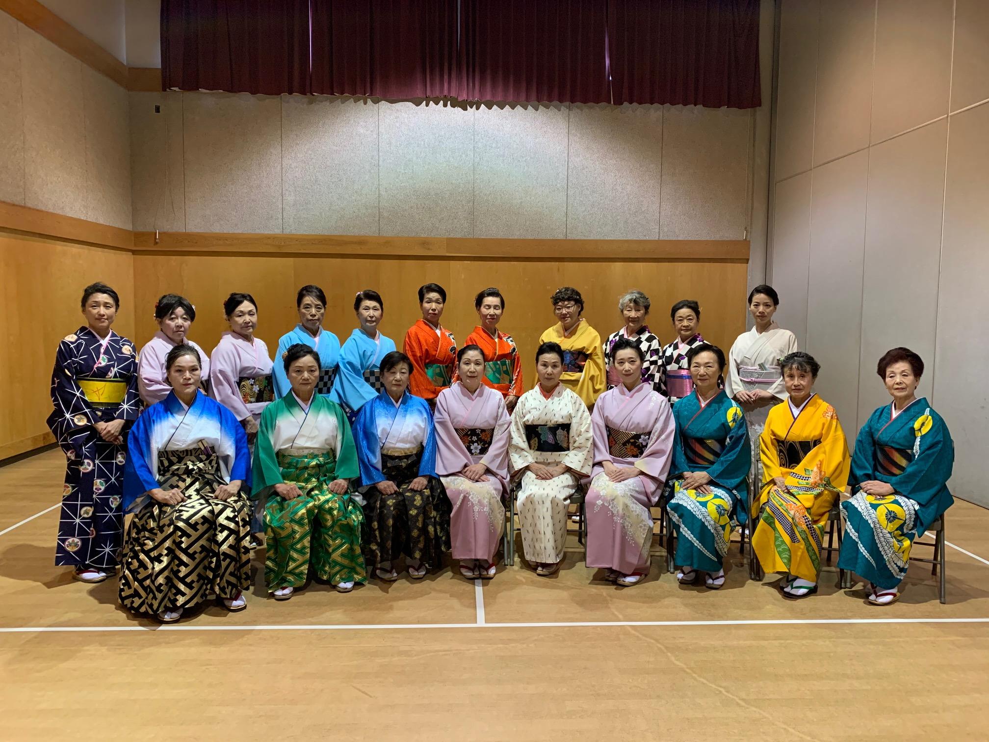 Yoko Matsuno and Friends (Satsuki-kai) share Japanese dance through popular Nikkei Centre events and our Taiken education program