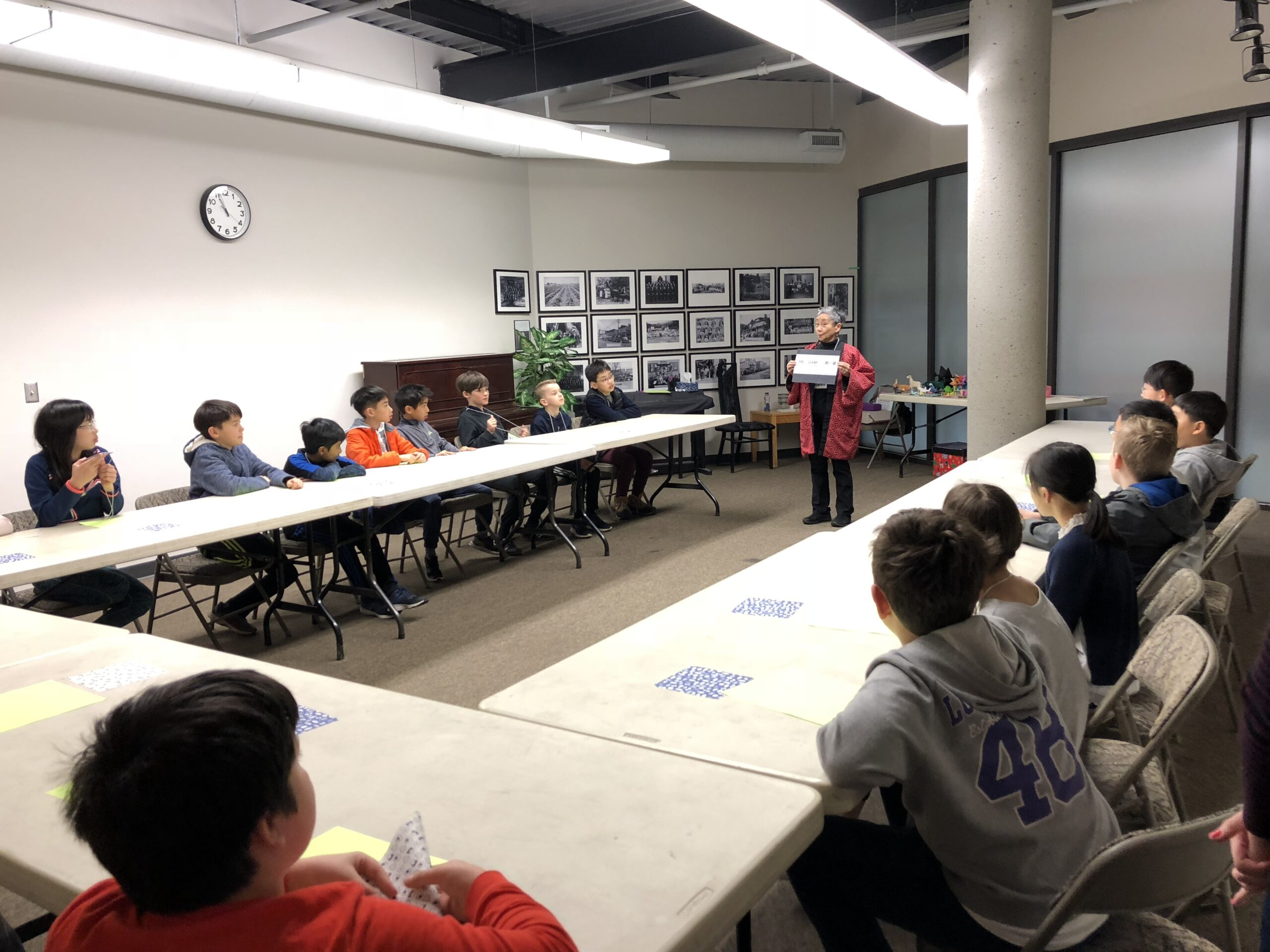 """Yukiko Tosa teaches students about Japanese Canadian history with """"Storigami"""""""